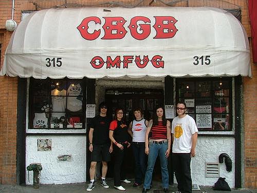 CBGBs frontage